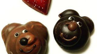 フランク・ケストナー、クマの形したギモーヴ ショコラがカワイイ。