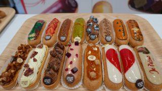 レクレール・ドゥ・ジェニの2017年秋冬商品発表!新作のエクレア型のタルトやクリスマスケーキも!