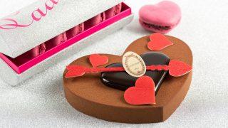 2018年のラデュレ(Ladurée)のバレンタイン情報!ハート形のチョコレートケーキや新作チョコレートボックスも!